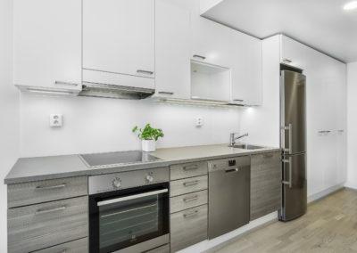 Marinkallio 2 uuden asunnon keittiö