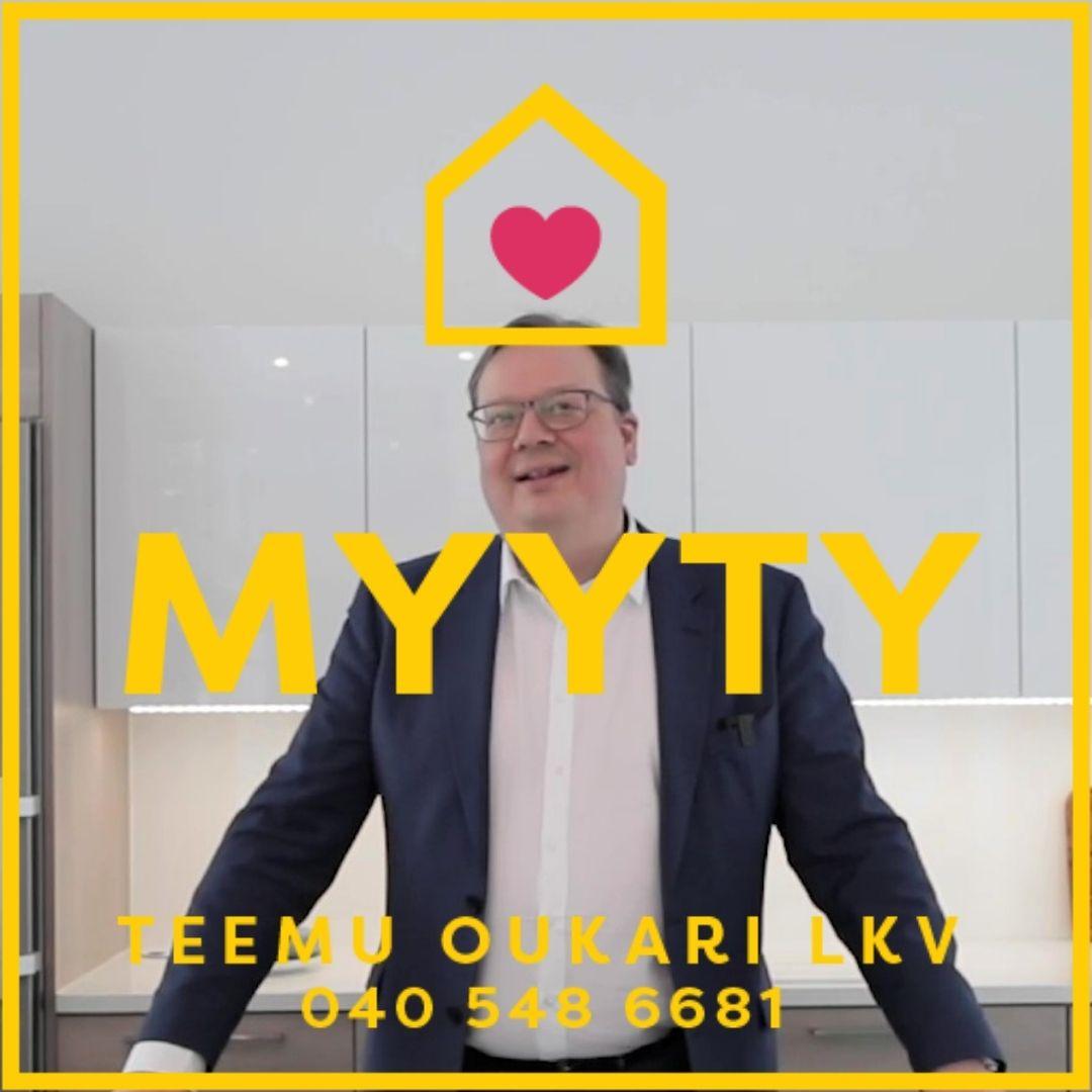 Teemu Oukari myy sinunkin kotisi